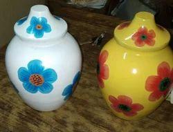 Rasgulla Glass Handi Matki Festival Gift