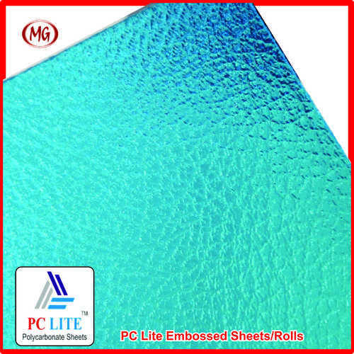 Pc Lite Embossed Sheet In Neemrana Mg Polyplast Industries Private Limited Id 4831495391