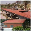 Kelon  Upvc Spanish model tile roofing sheets