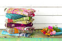 Vintage Kantha Quilt Hanmade Quilt