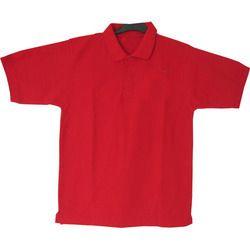 Red Collar T-Shirt