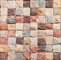 Mix Color Rock Face Mosaic Tiles