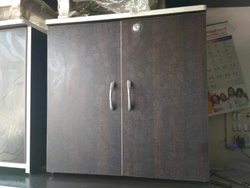 Brown Wooden Cupboard
