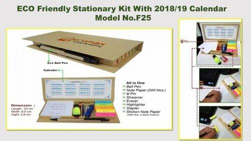 Eco friendly stationery kit