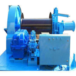 Free Fall Mooring Winch Machine