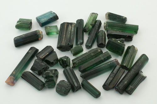 Tourmaline Rough Stone Green Tourmaline Rough Stone