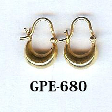 Plain Gold Small Bali Earring View Specifications Details Of