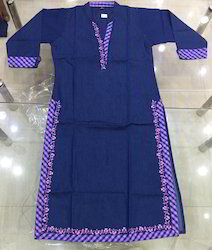 Ladies Fancy Denim Kurti