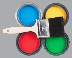 Colored Industrial Paints