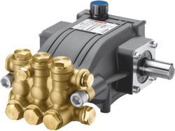Triplex Water Jet Plunger Pump