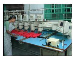 Embroidery Division | Kishore Industries | Manufacturer in Tirupur