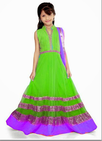 324cb35455a Party Wear Kids Gown at Rs 1800  piece