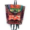 Jacquard Kantha Backpack