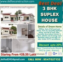 4BHK Residential Flats Construction Services