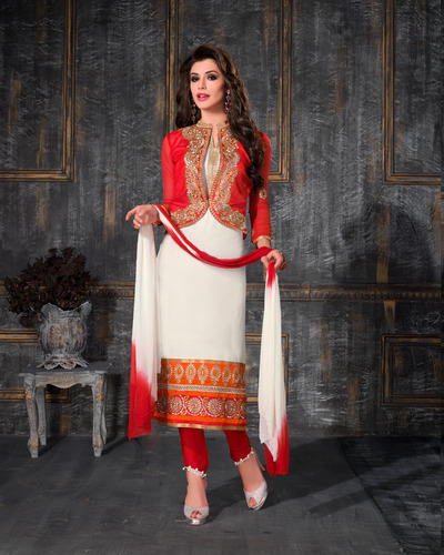 Jacket Style Straight Suit At Rs 1000 Piece S Long Straight Suit