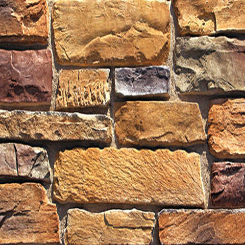 Exterior Cultured Stone Cladding at Rs 190 /square feet | Stone Wall ...