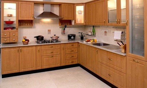 Indian Modern Modular Kitchen at Rs 50000/set | Cabinets ...