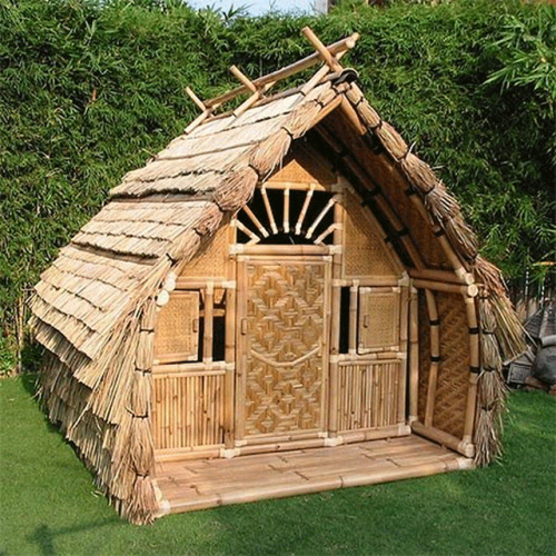 Hut Design: Bamboo House At Rs 250000 /piece