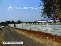 RCC Concrete Folding Ready Made Wall Precast