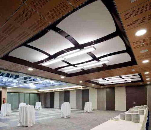 Acoustic Wooden Ceiling