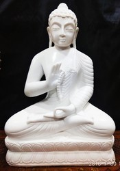 Dust Marble Buddha Statue