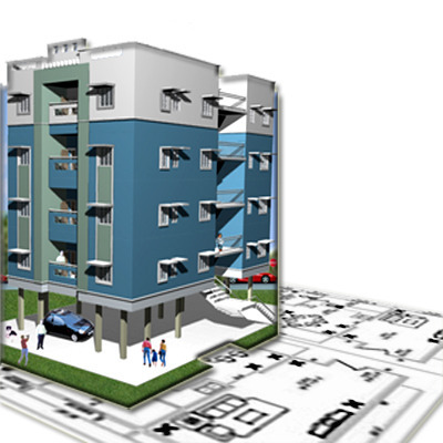 3d Elevation Drawing Architectural Service In Vrindavan Society Pune Sv Interior Designing Architect Services Enterprises Id 10698792355