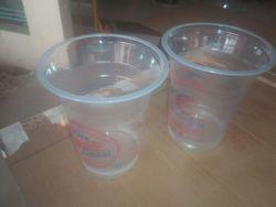 solution Packing Plain Transparent Plastic Disposable Glass