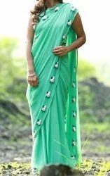 eaec5b6cb2 Chiffon Sarees in Madurai, Tamil Nadu | Get Latest Price from ...