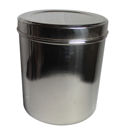 Storage Container SS Container Stainless Steel Ka Bartan