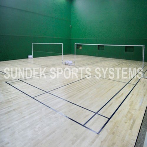Badminton Court Construction Badminton Court Flooring
