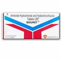 Amiloride Hydrochloride and Hydrochlorothiazide Tablets USP