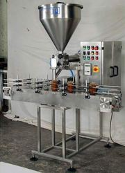 Automatic Paste Filler In Jar Machine