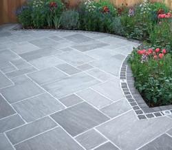 Kandla Grey Sandstone Flooring