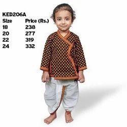 Ethnic Dhoti Angrakha Dress 206A