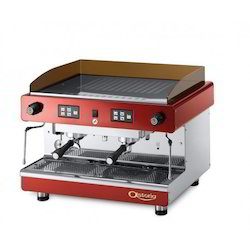 Javvad Stainless Steel Astoria Semi Automatic Espresso Machine, for Cafe, Red