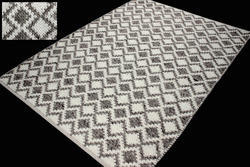 Handwoven Wool Viscose Rug
