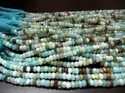 Natural Peruvian Opal Beads - Strand