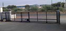 Industrial Telescopic Gate with Automation