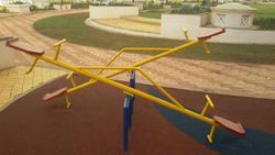 SEE SAW PLAY EQUIPMENT