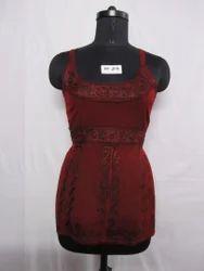 Rayon Acid Wash Mini Dress