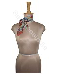 Multicolor Printed Neck Scarves, Packaging Type: Polybag