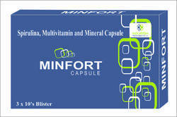 spirulina multivitamin and mineral tablet