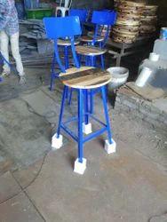 Metal High Bar Stool