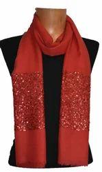 Cashmere Fancy Zari Shawl, Size: 80x200 cm