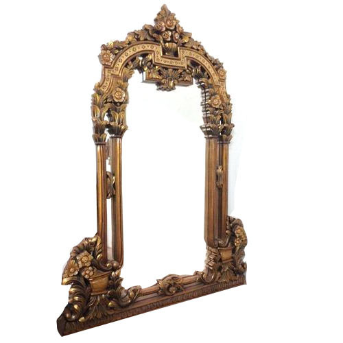Designer Wooden Frame Mirror, Wooden Designer Frames And Mirrors ...