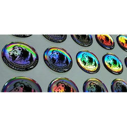 Multicolor Holographic Dome Stickers, Packaging Type: Packet