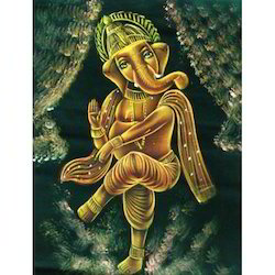 Painting of Dancing Ganesha