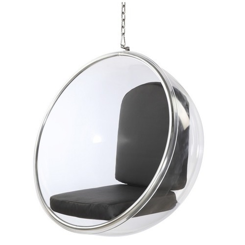 Clear Acrylic Bubble Swing Chair