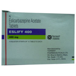 Eslicarbazepine Acetate Tablets
