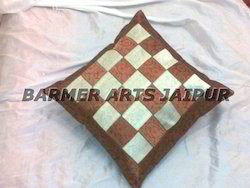 CUSHION COVER BANARASI BORDER